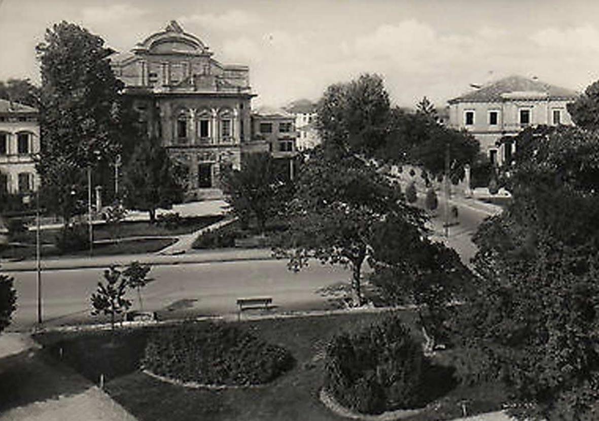 CARTOLINA TEATRO SALIERI – 1955