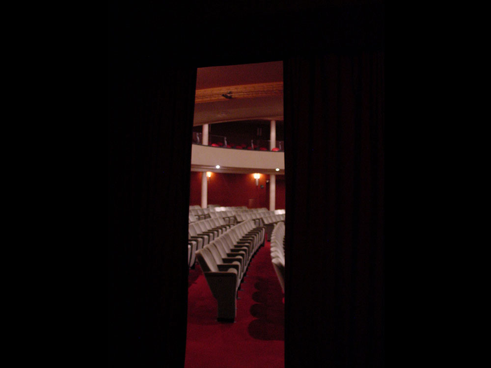 Vista della Platea da un ingresso laterale - Teatro Salieri